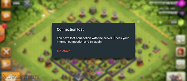 Cara Jitu Agar Tidak Loss Connection di COC